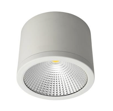 . PlusPng.com LED Ceiling Light Black or White 35W in 3K or 5K Neo Domus Lighting PlusPng.com  - Led PNG Black And White