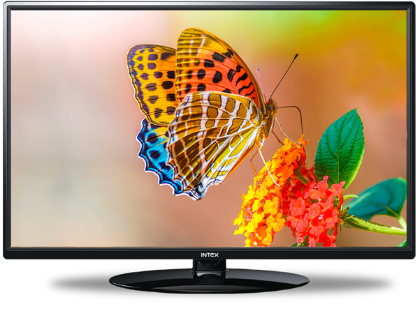Intex LED TV 2412 with Panel Size 60 CM - Led Tv PNG