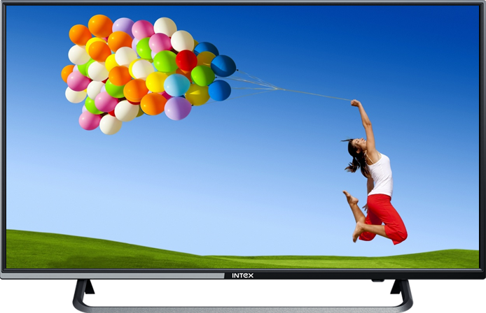 Intex LED TV 4010 Full HD with Panel Size 100 CM - Led Tv PNG
