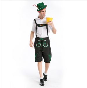 Image is loading Mens-Lederhosen-Oktoberfest -Octoberfest-Bavarian-German-Beer-Costume- - Lederhosen Oktoberfest PNG