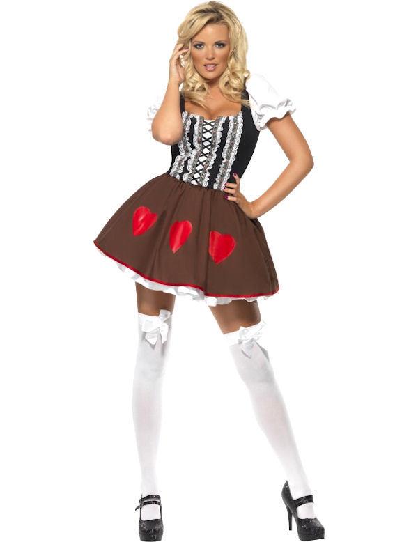 Ladies-Oktoberfest-Costume-Bavarian-Beer-Girl-German-Lederhosen- - Lederhosen Oktoberfest PNG