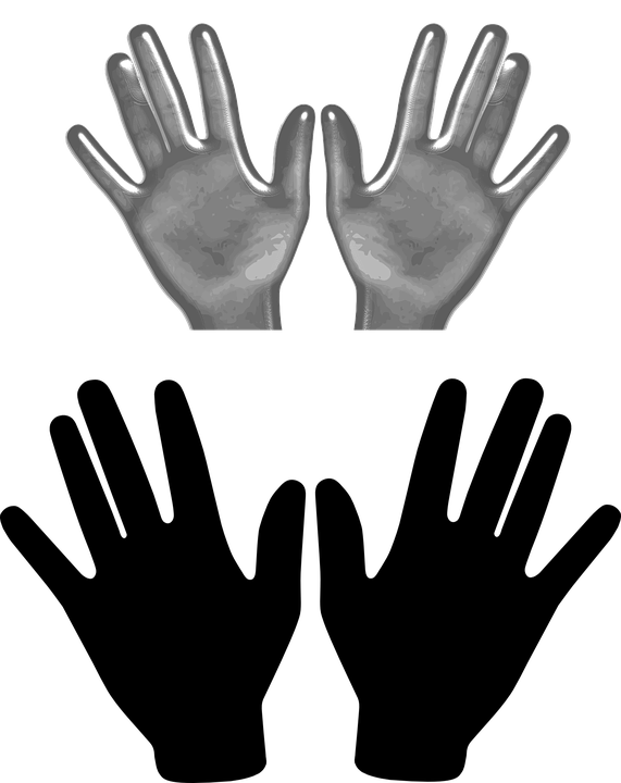 Left And Right Hand PNG - 88867