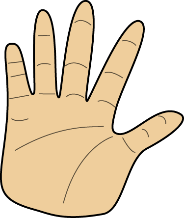 Left And Right Hand PNG - 88872