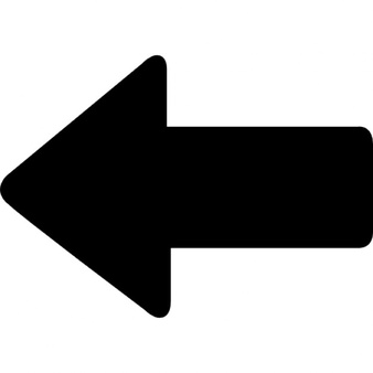 Arrow bold left, IOS 7 interface symbol - Left Arrow PNG
