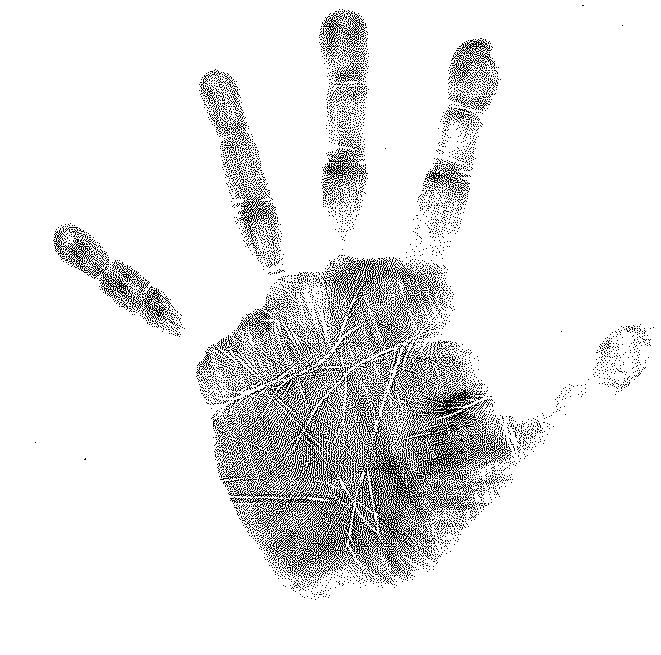 Left Hand - Left Handprint PNG
