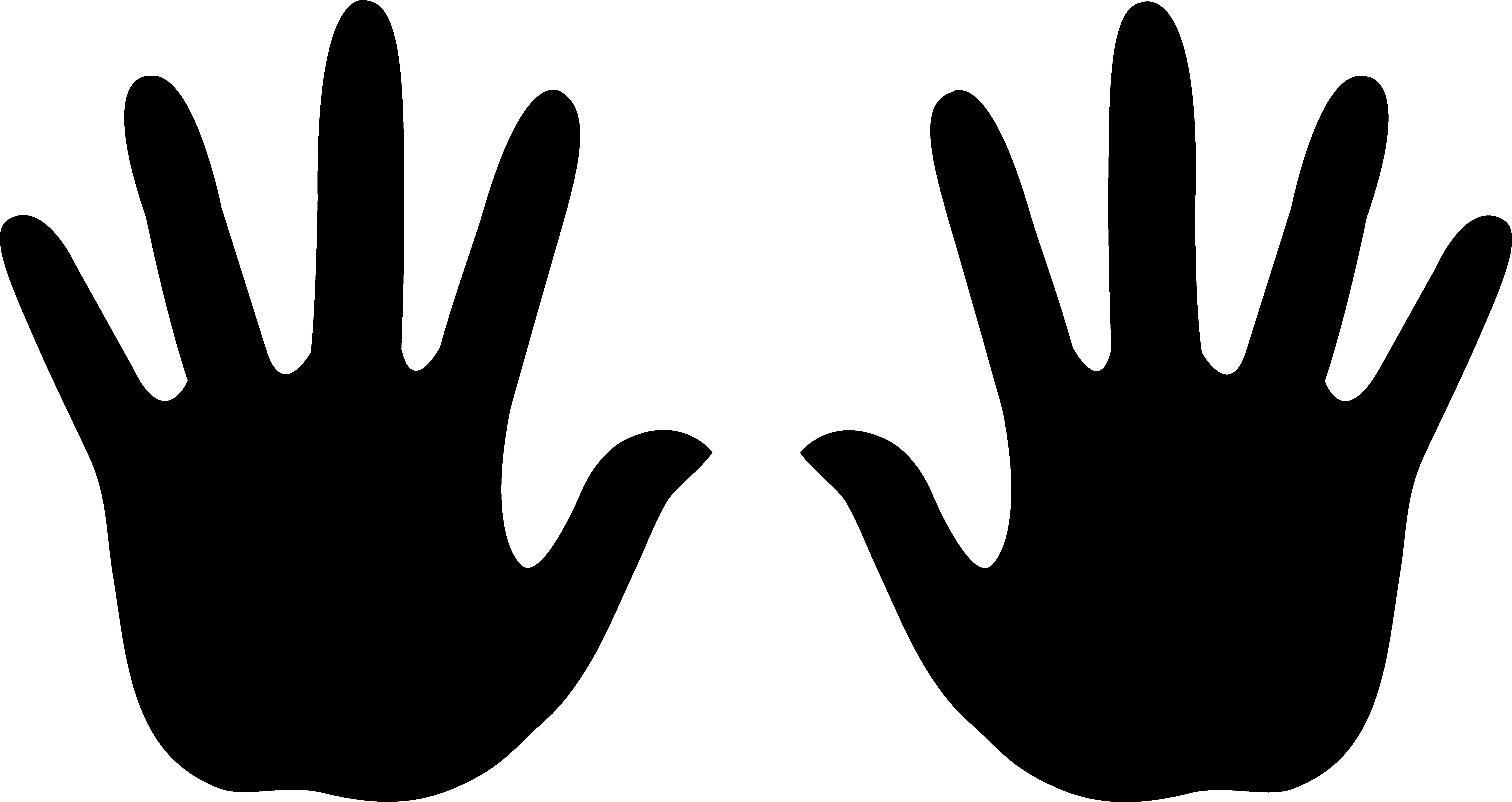 Left Handprint PNG - 43487