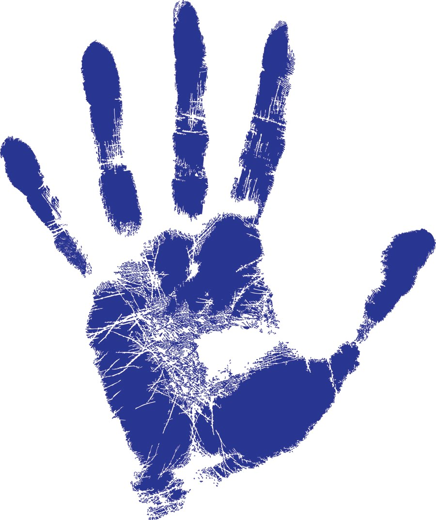 Left Hand Community Acupuncture - Left Handprint PNG