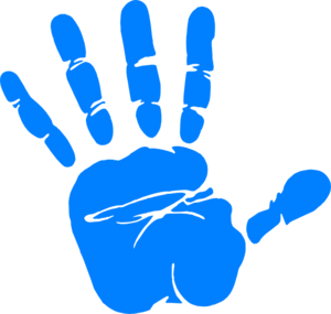 Left Handprint PNG