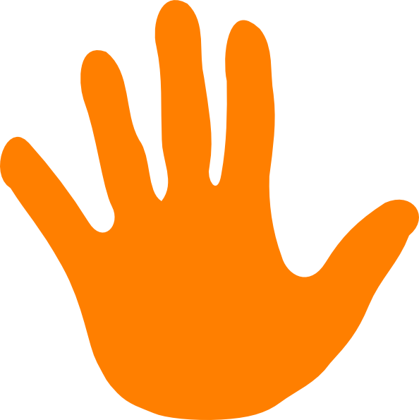pin Handprint clipart left hand #2 - Left Handprint PNG