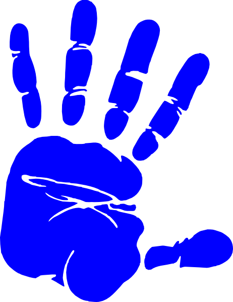 Left Handprint PNG - 43484