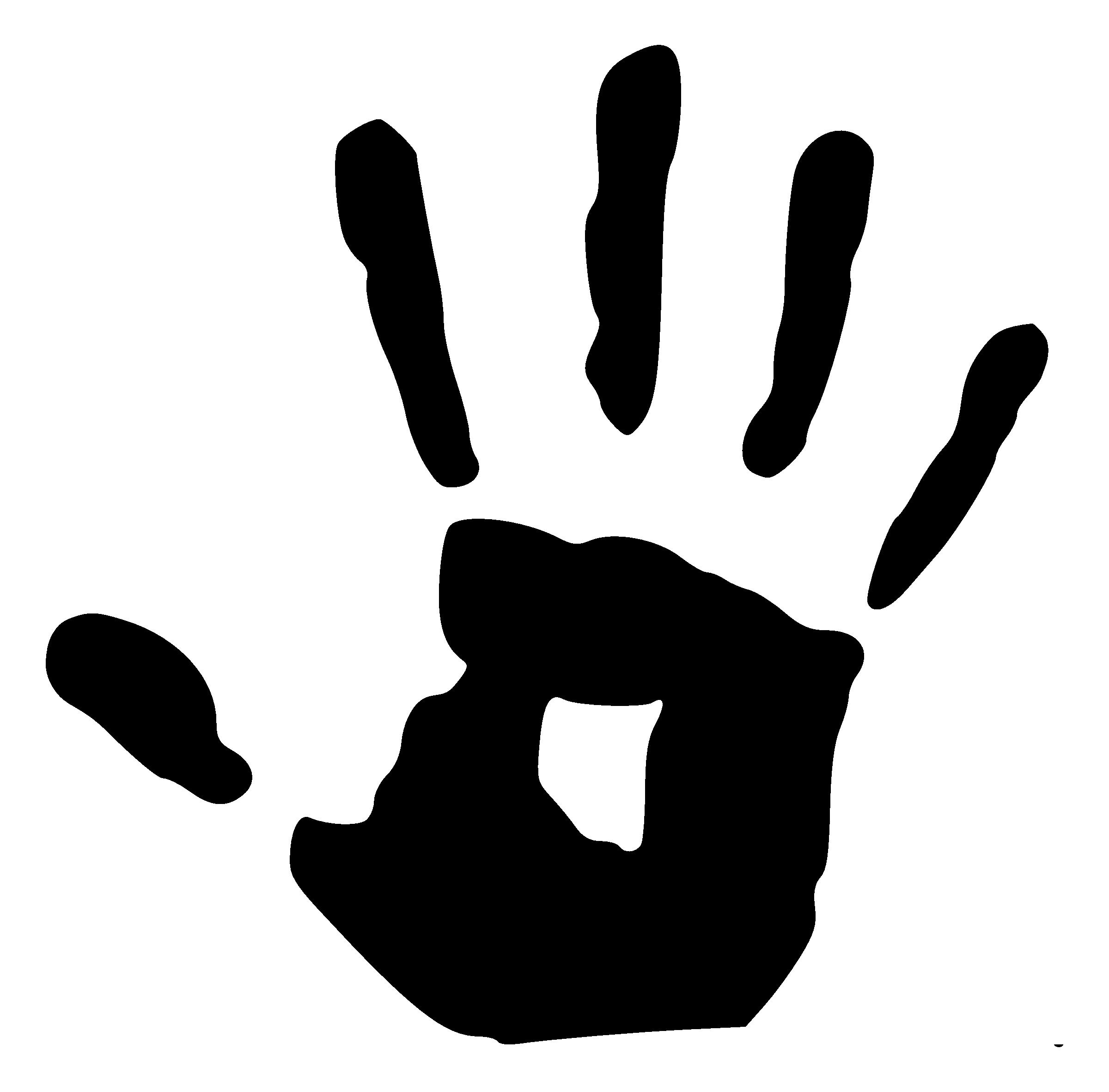 Left Handprint PNG - 43486