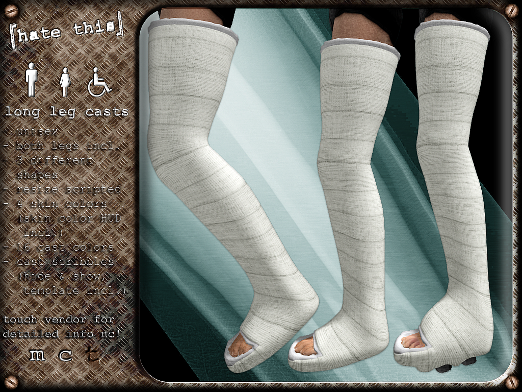 [ht ] long leg casts - Leg Cast PNG