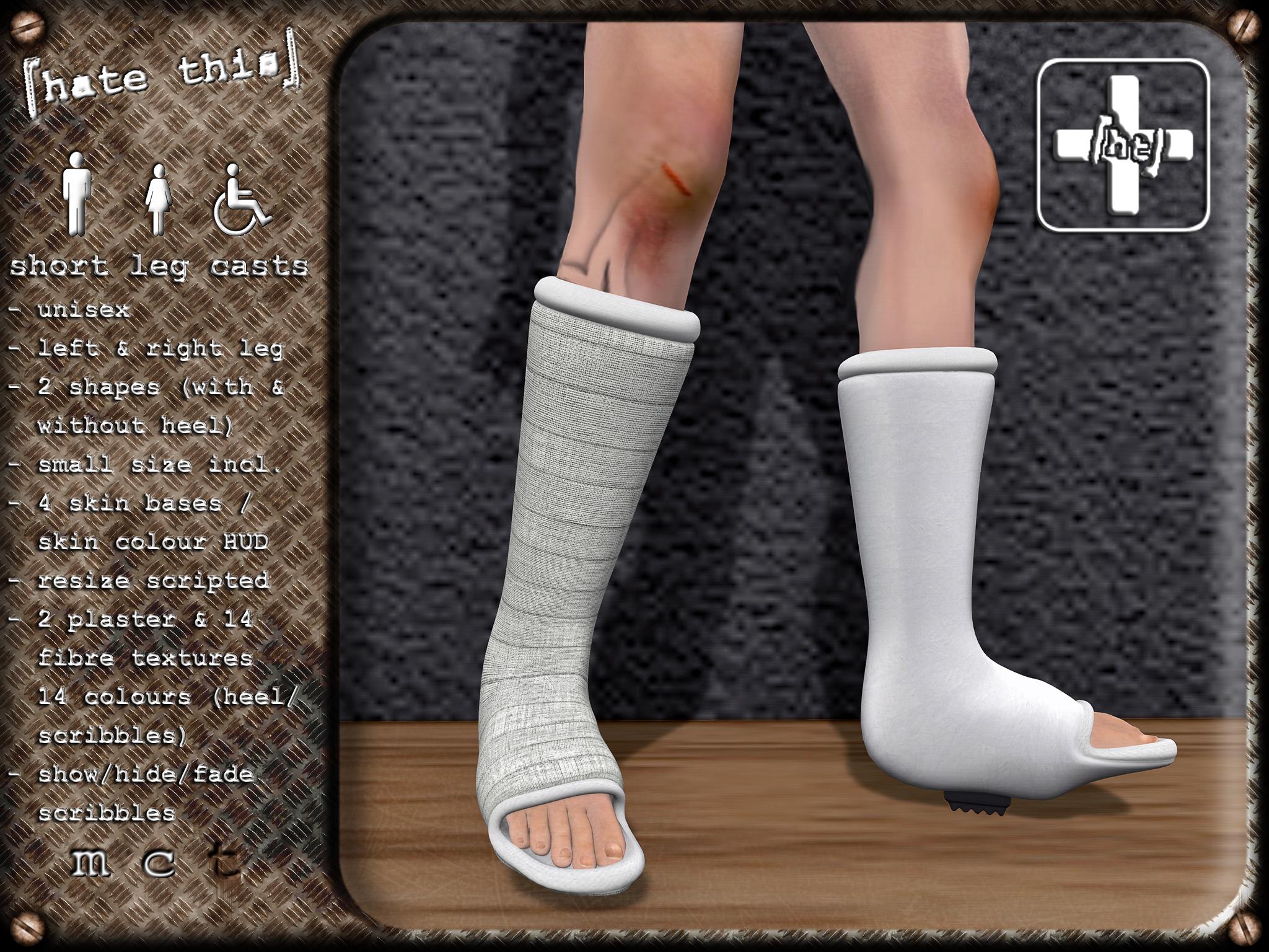 [ht ] short leg casts - Leg Cast PNG