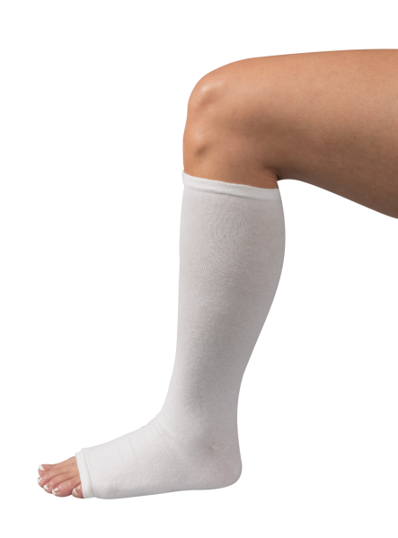 Paceline Lower Extremity Cast Brace Liners - Leg Cast PNG