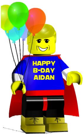Lego Birthday PNG-PlusPNG.com-285 - Lego Birthday PNG