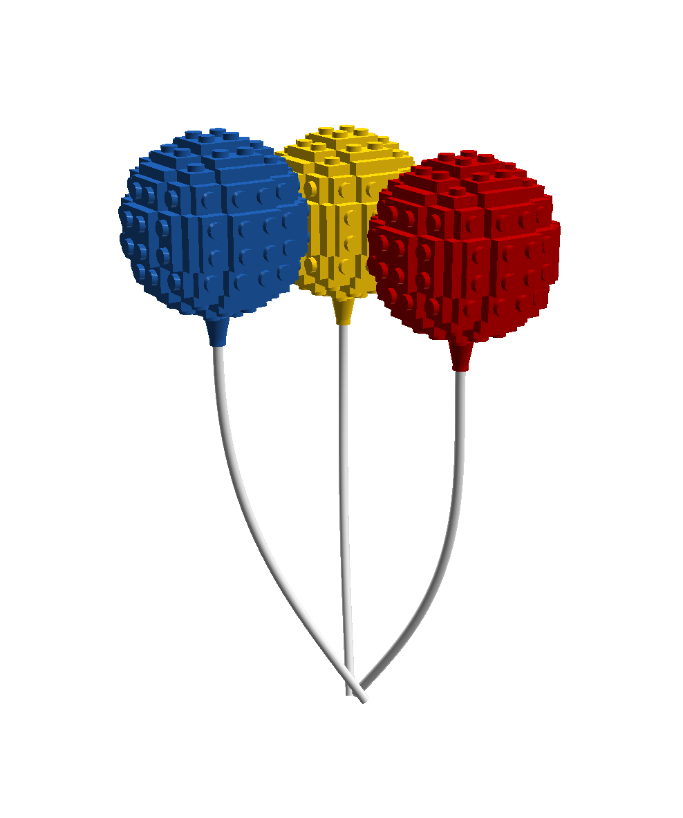 Birthday Balloon.png - Lego Birthday PNG