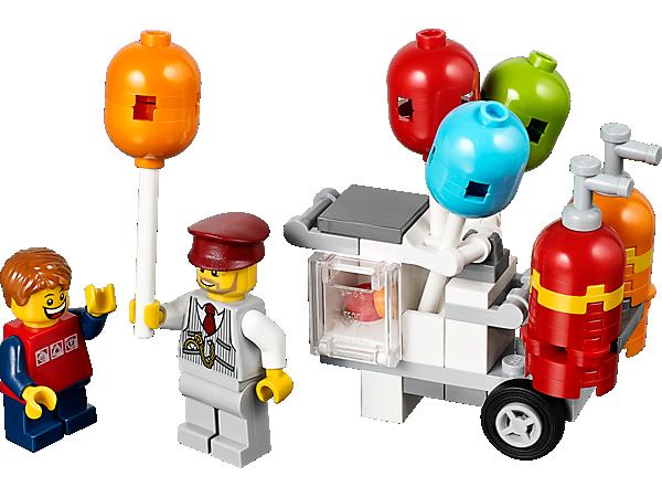 Lego Birthday Balloon - Lego Birthday PNG
