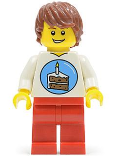Lego Birthday Party Minifig - Lego Birthday PNG