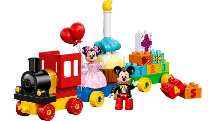 Mickey u0026 Minnie Birthday Parade - Lego Birthday PNG