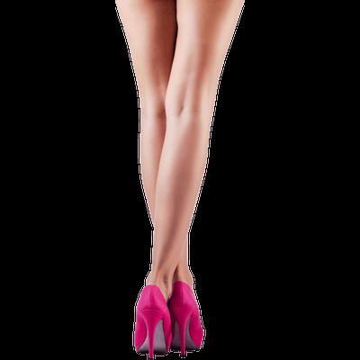 Pink High Heels Legs - Legs PNG