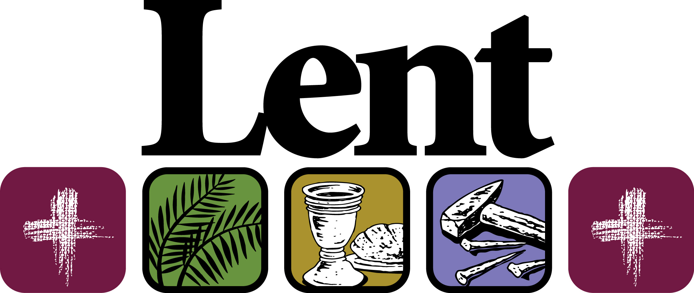 lent WordCloud_2 - Lent PNG H