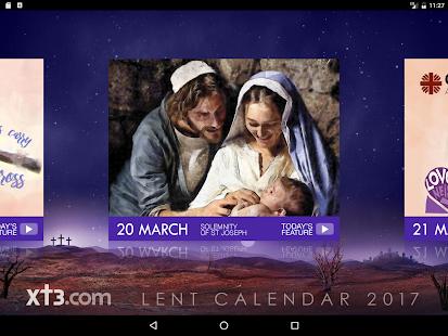 . PlusPng.com Xt3 Lent Calendar HD 2017- ekran görüntüsü küçük resmi PlusPng.com  - Lent PNG HD