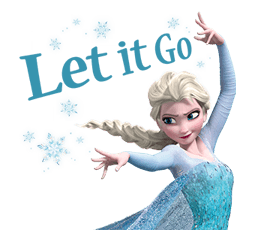 Stickerline-elsa-let-it-go.png - Let It Go PNG