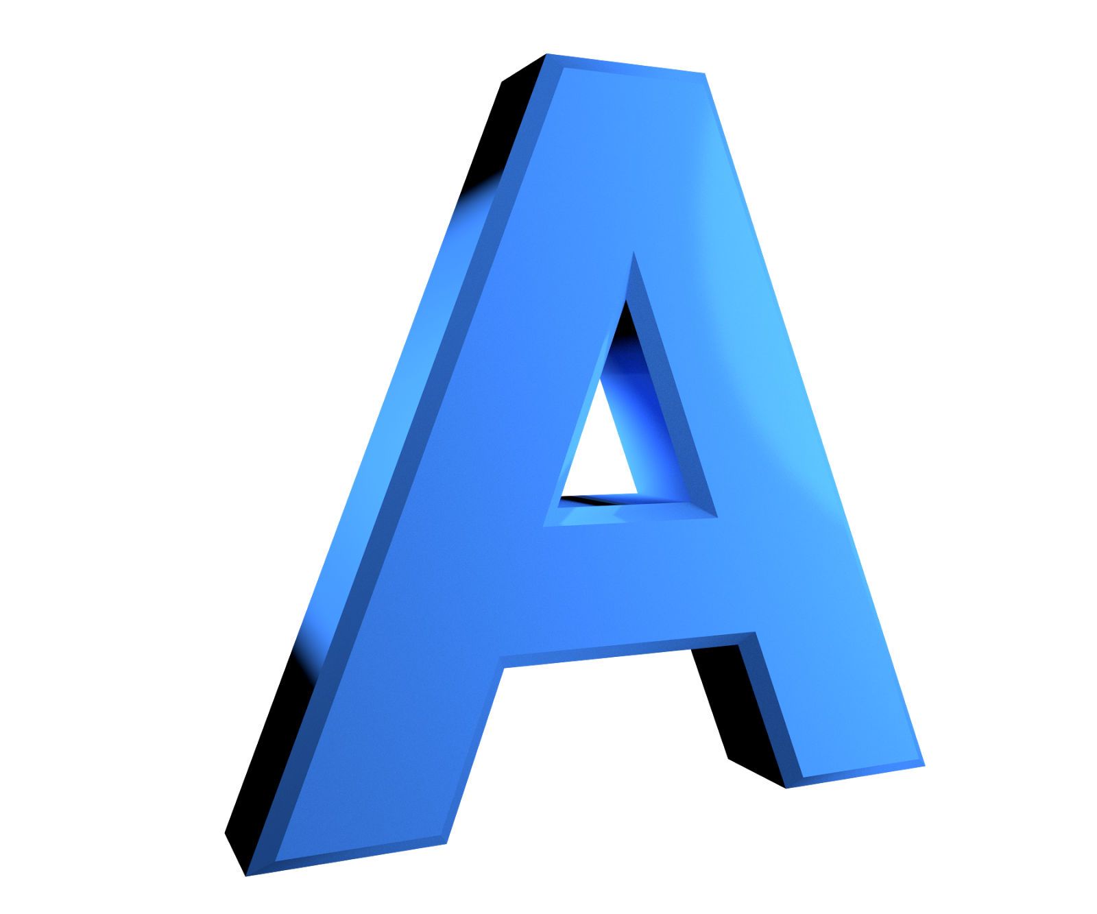 Letter A HD PNG - 117433