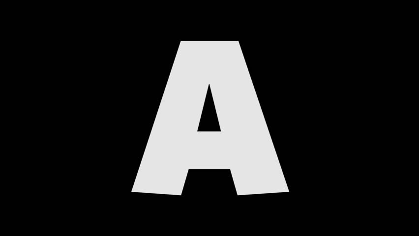 Letter A HD PNG - 117421
