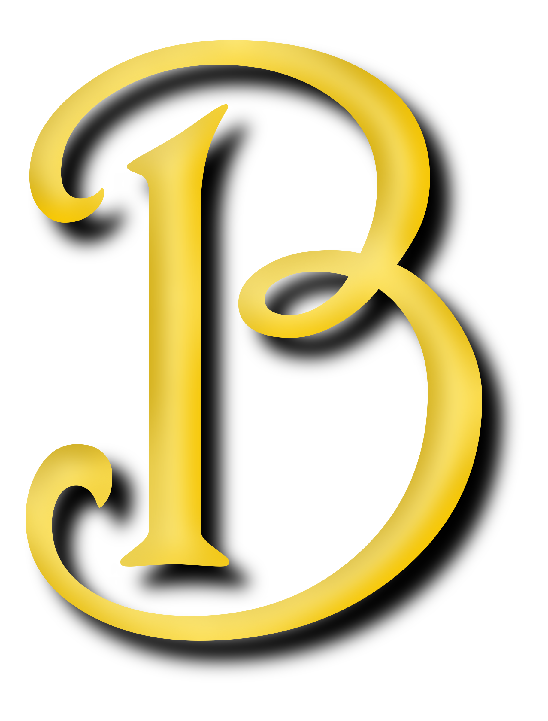 Letter B HD PNG - 93778