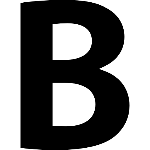 Letter B HD PNG - 93777
