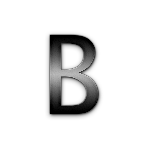 Letter B HD PNG - 93776