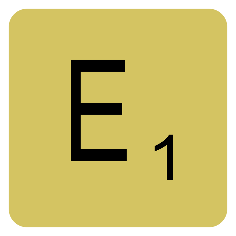 Letter E HD PNG - 117763