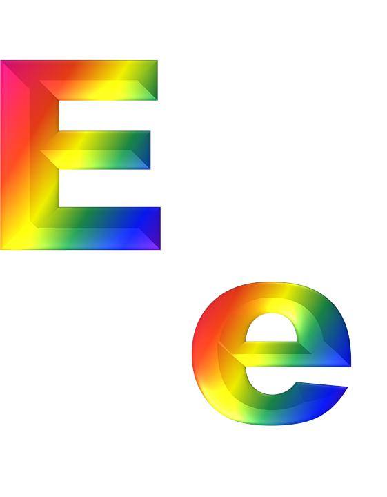 Letter E HD PNG - 117757