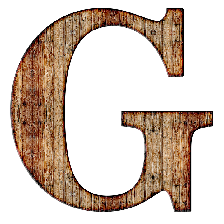 Alphabet, Letter, Initial, Background - Letter G HD PNG
