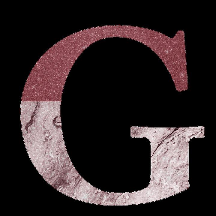 Letter G, Alphabet, G, Letter, Marble - Letter G HD PNG