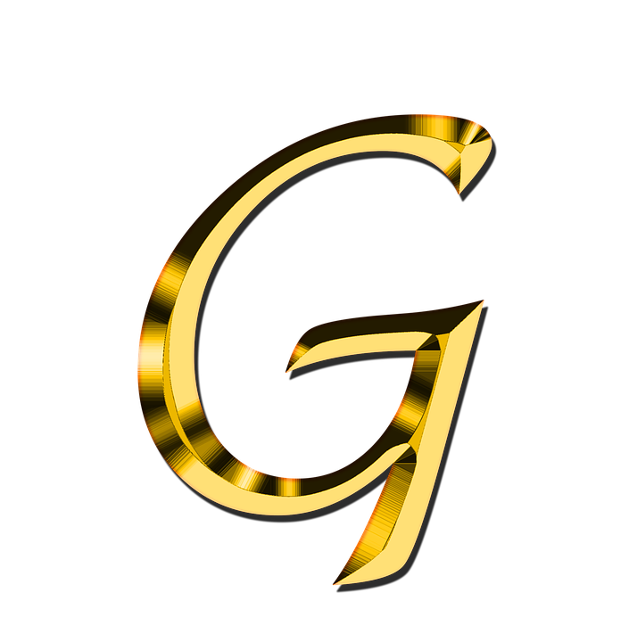 Letters, Abc, G, Alphabet, Learn - Letter G HD PNG