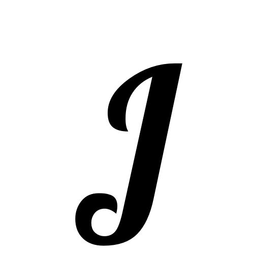 Lobster1.1, Regular - J - Letter J HD PNG