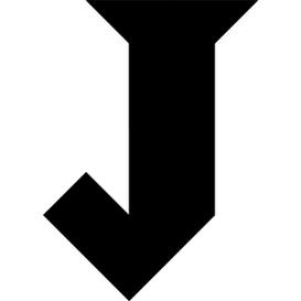 Tangram Puzzle 122 : Letter J - Visit Http://www.tangram- - Letter J HD PNG