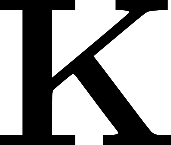 Cyrillic Letter K · Download Png - Letter K HD PNG
