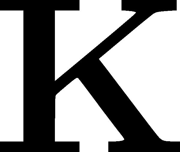 Letter K HD PNG - 92228