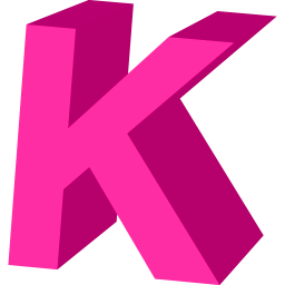 Download PNG | 256px PlusPng.com  - Letter K HD PNG