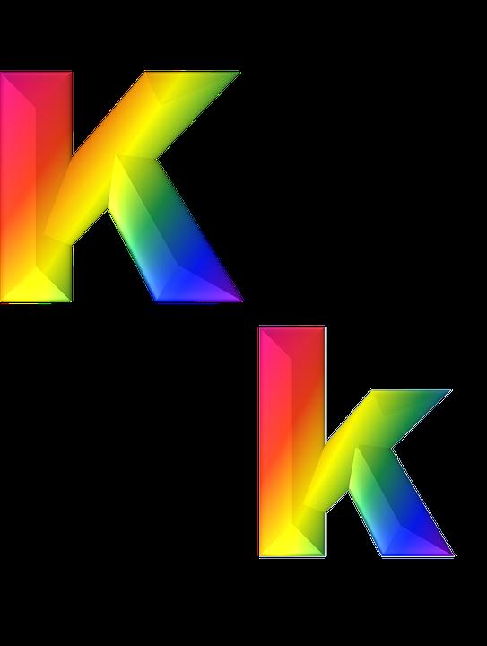 Letter K HD PNG - 92231