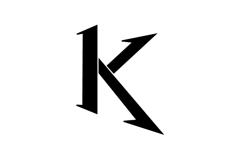 Letter K by Kevinho160 PlusPng.com  - Letter K HD PNG