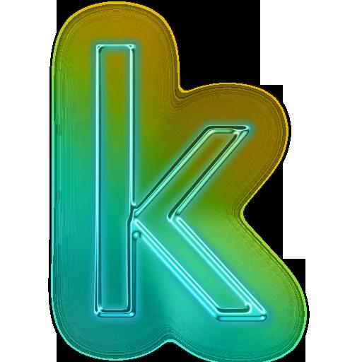 Letter K Icon #110694 - Letter K HD PNG
