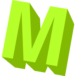 Download PNG | 256px PlusPng.com  - Letter M HD PNG