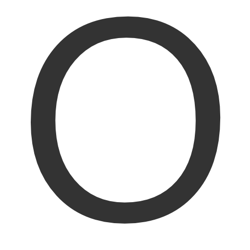Letter O PNG - 64739