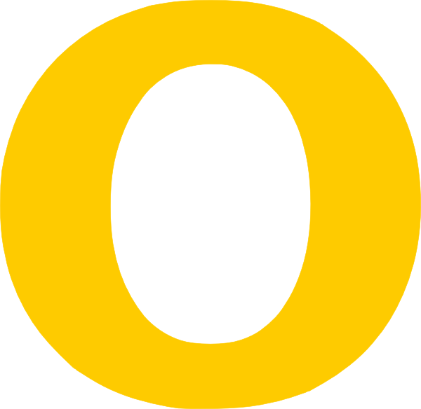 PNG: small · medium · large - Letter O PNG