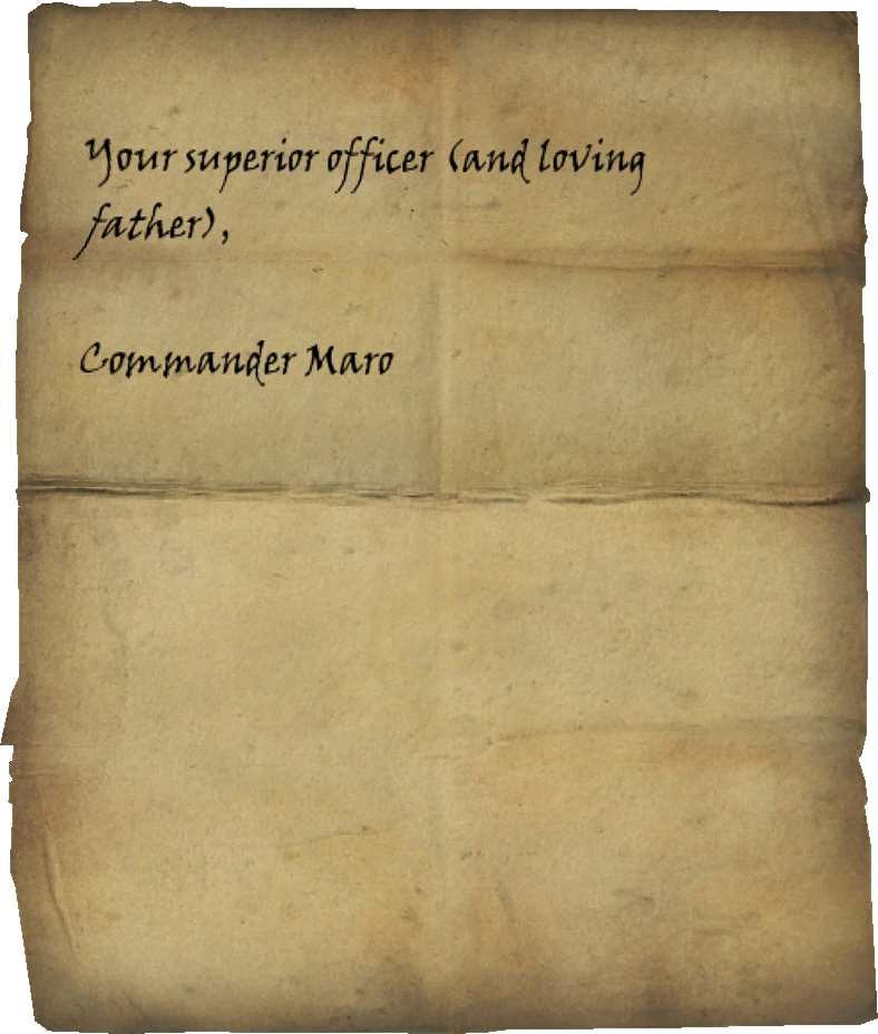 Letter From Father Page 4.png - Letter PNG