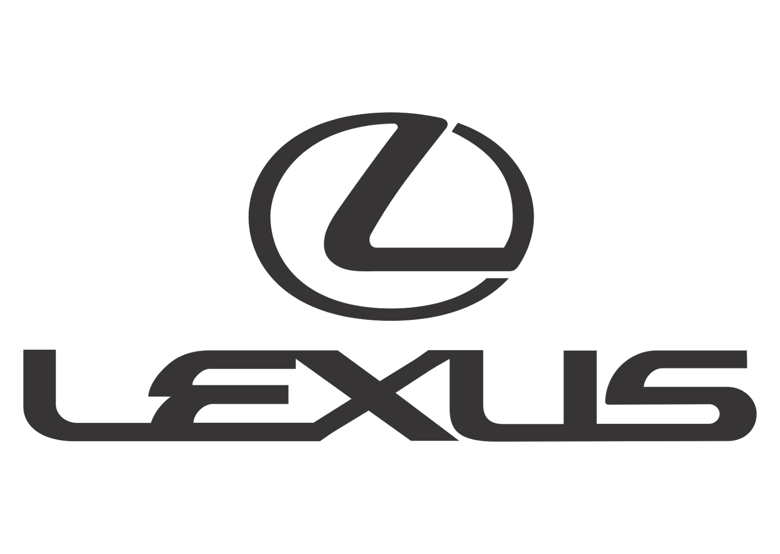 Lexus Logo vector Transparent